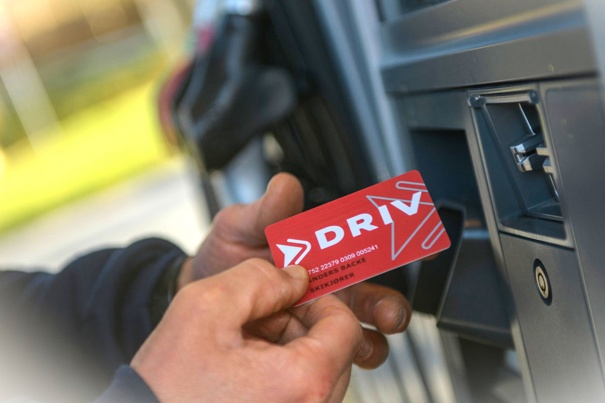 DRIV energi kundeklubb kort